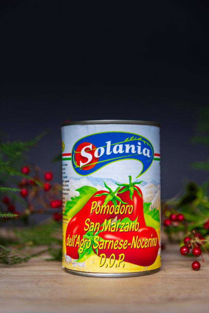 Pomidory San Marzano dell'Agro Sarnese-Nocerino DOP, Solania